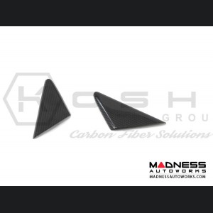 Porsche 911 GT3 Interior Door Triangle - Carbon Fiber