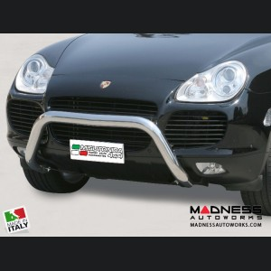 Porsche Cayenne Bumper Guard - Front - Super Bar by Misutonida