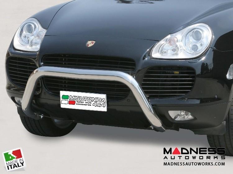Porsche Cayenne Bumper Guard - Front - Super Bar by Misutonida