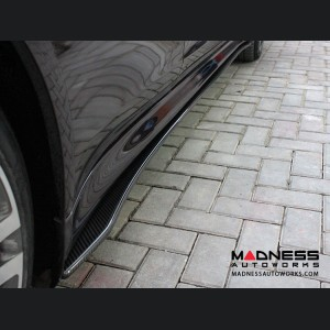 Porsche Panamera Side Skirt Set - Carbon Fiber