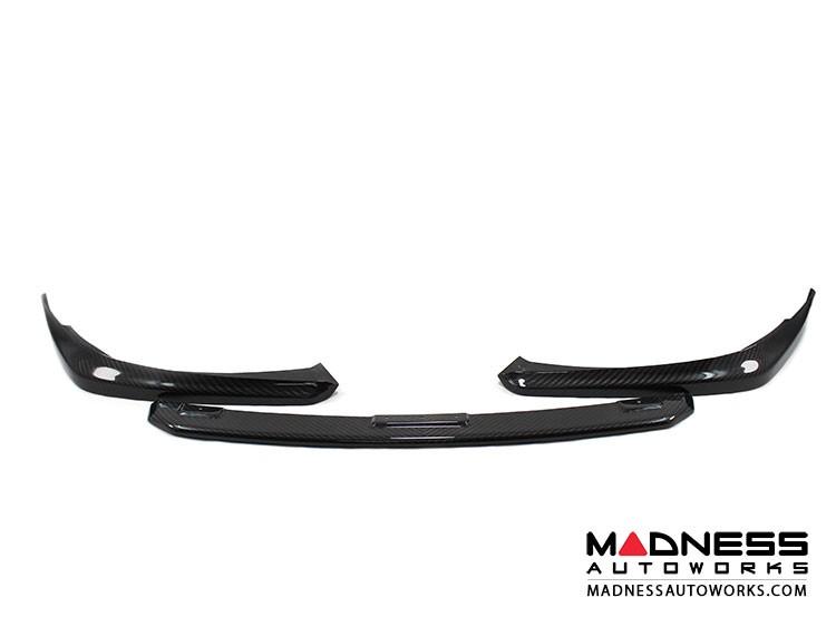 Porsche Panamera Front Lip /Splitter / Bumper Facelift - Carbon Fiber