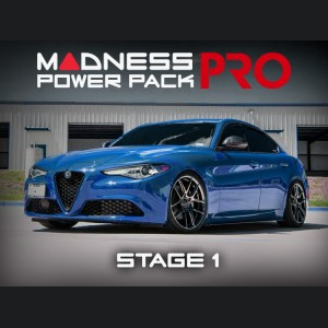 Alfa Romeo Giulia MADNESS Power Pack PRO - 2.0L - Stage 1