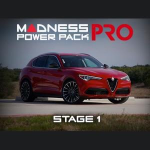Alfa Romeo Stelvio MADNESS Power Pack PRO - 2.0L - Stage 1