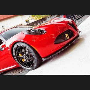 Alfa Romeo 4C Carbon Fiber Front Splitter