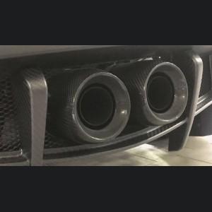 Alfa Romeo 4C Carbon Fiber Exhaust Tips