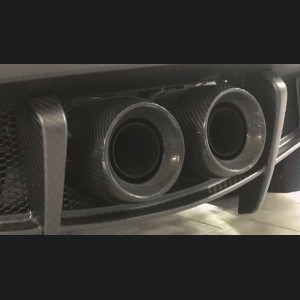 Alfa Romeo 4C Carbon Fiber Exhaust Tips