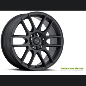 "Jeep Renegade Custom Wheels by Raceline - 141 - 16""x7"" - Mystique Black"