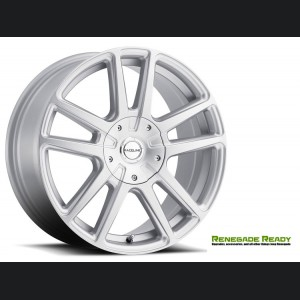 "Jeep Renegade Custom Wheels by Raceline - 145S - 16""x7"" - Encore Silver Finish"
