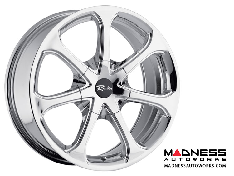 "Jeep Renegade Custom Wheels by Raceline - 197 - 17""x7.5"" - Chrome"