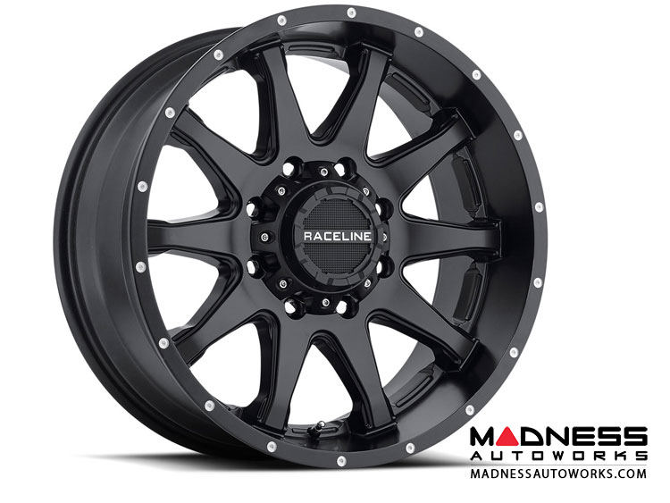 "Jeep Renegade Custom Wheels by Raceline - 930B - 18""x8"" - Shift Black"