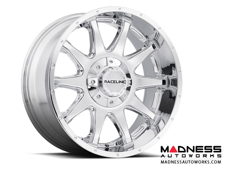 "Jeep Renegade Custom Wheels by Raceline - 930C 17""x8"" - Shift Chrome"