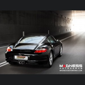 Porsche Cayman/ Cayman S (987) Performance Exhaust by Ragazzon - Evo Line - Center Exit/ Dual Tip