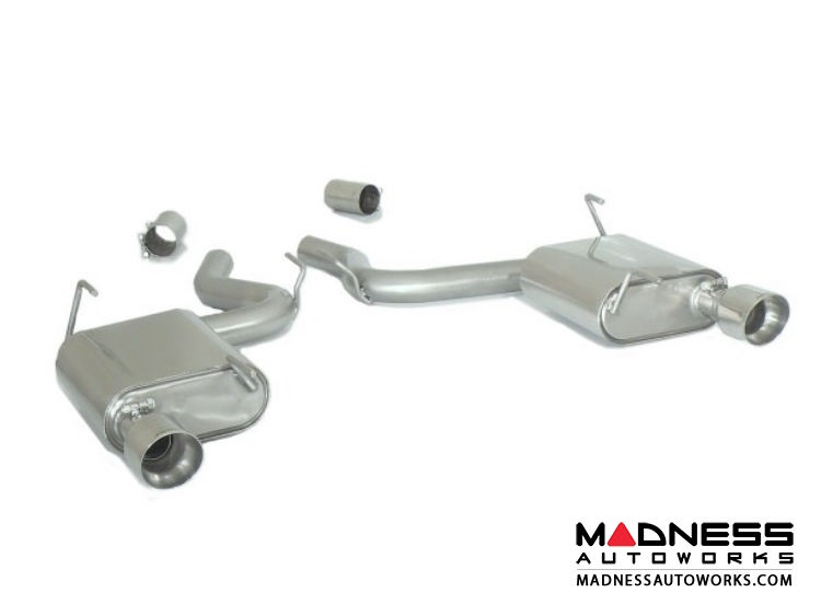 Ford Mustang EcoBoost Performance Exhaust by Ragazzon - Evo Line - Axle Back - Dual Exit/ Dual Polished Tip