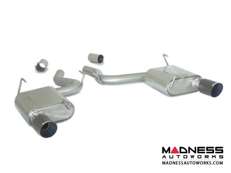 Ford Mustang EcoBoost Performance Exhaust by Ragazzon - Evo Line - Axle Back - Dual Exit/ Dual Carbon Tip