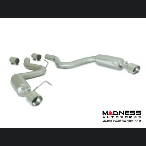 Ford Mustang EcoBoost Performance Exhaust by Ragazzon - Evo Line - Axle Back w/ Sport Muffler - Dual Exit/ Dual Polished Tip