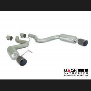 Ford Mustang EcoBoost Performance Exhaust by Ragazzon - Evo Line - Axle Back w/ Sport Muffler - Dual Exit/ Dual Carbon Tip