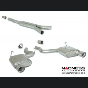 Ford Mustang EcoBoost Performance Exhaust by Ragazzon - Evo Line - Center Section w/ Mufflers and Polished Tips