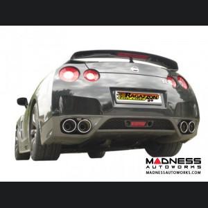 Nissan GTR Performance Exhaust by Ragazzon - Evo Line - Axle Back  - Quad Exit