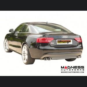 Audi S5 (2008-2012) Performance Exhaust by Ragazzon - Evo Line - Dual Exit/ QuadTip