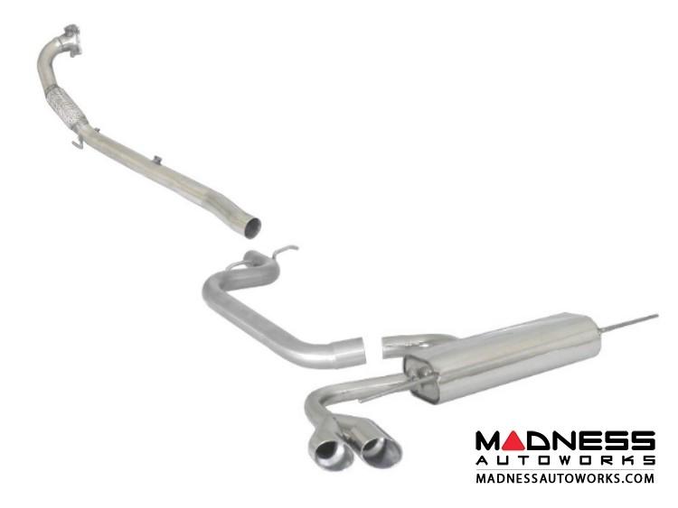 Audi TT Coupe/ Roadster (8J) Performance Exhaust by Ragazzon - Evo Line - DualTip