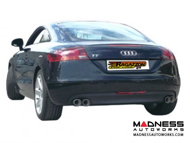 Audi TT Coupe/ Roadster (8J) Performance Exhaust by Ragazzon - Evo Line - Dual Exit/ QuadTip