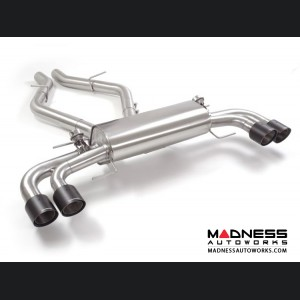 Alfa Romeo Giulia Performance Exhaust - 2.9L QV - Ragazzon - Evo Line - Axle Back - Dual Exit/ Quad Carbon Tips