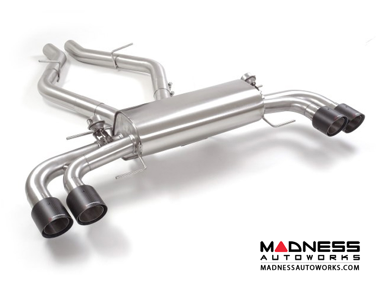 Alfa Romeo Stelvio Performance Exhaust - 2.9L QV - Ragazzon - Evo Line - Axle Back - Dual Exit/ Quad Carbon Tips