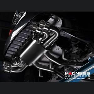 Alfa Romeo Giulia Performance Exhaust - 2.9L QV - Ragazzon - Evo Line - Axle Back - Dual Exit/ Quad Stainless Steel Tips