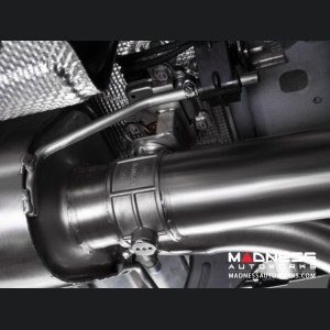 Alfa Romeo Stelvio Performance Exhaust - 2.9L QV - Ragazzon - Evo Line - Axle Back - Dual Exit/ Quad Carbon Tips