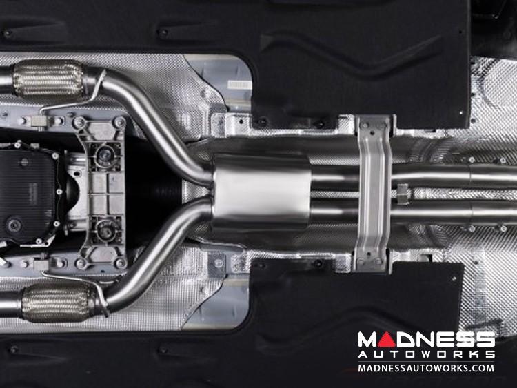 Alfa Romeo Giulia Performance Exhaust - 2.9L QV - Ragazzon - Evo Line - Center Section - Resonated