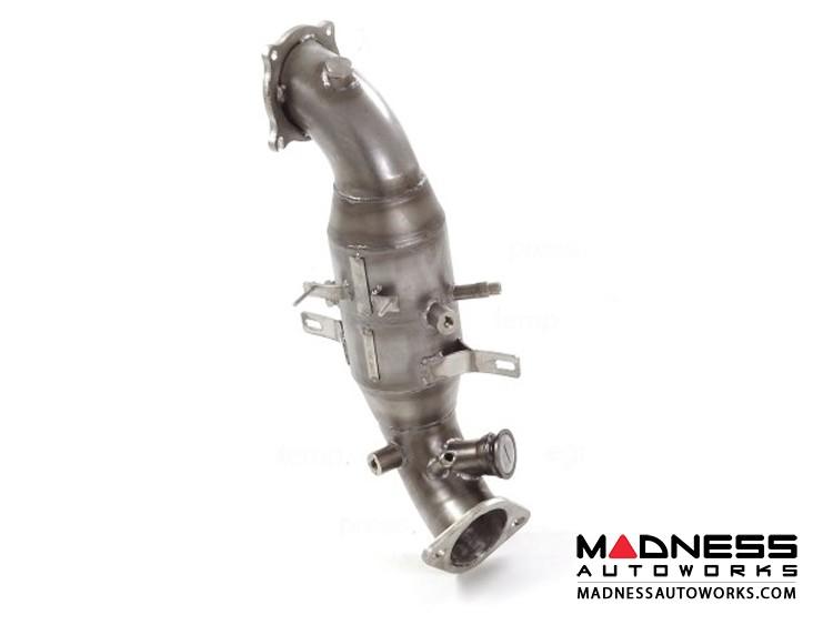 Alfa Romeo Stelvio Downpipe - 2.0L - High Flow - Ragazzon - Evo Line - 300CPSI w/ Temperature + Pressure Bungs