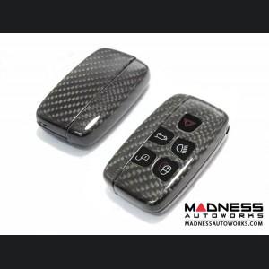 Range Rover Carbon Fiber Key Fob - Carbon Fiber