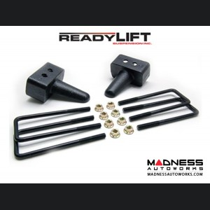 """Ford F-150 4WD 3"""" Rear Tall Block Kit by ReadyLIFT Suspensions"""