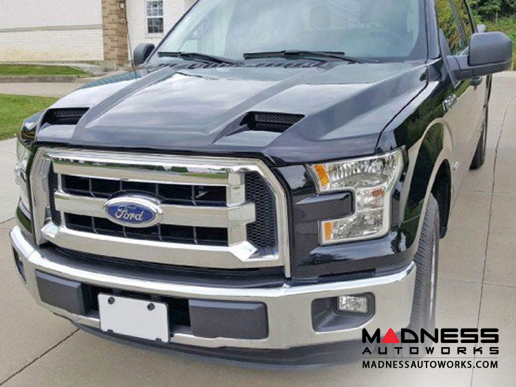 Ford F-150 Functional Ram Air Hood - (2015-2018)
