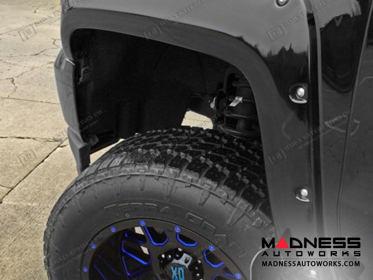 Ford F-150 Painted Bolt On Fender Flares - (2015-2017)