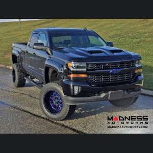 Chevrolet Silverado 1500 Functional Ram Air Hood - (2016-2017)