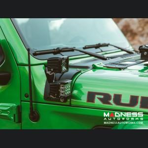 Jeep Wrangler JL Cowl Mount Standoff Kit - Tall