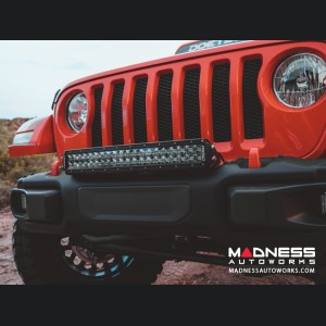 Jeep Wrangler JL Curved Bumper Mount - Powder Coat