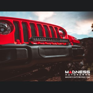 Jeep Wrangler JL Straight Bumper Mount