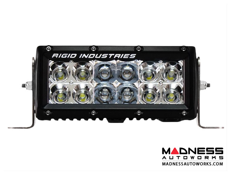 Volvo e series 6 led light bar by rigid industries spot and e series 6 led light bar by rigid industries spot and flood lighting combo aloadofball Gallery