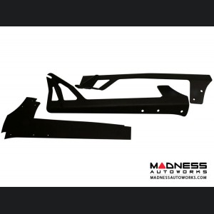 "Jeep JK Upper Windshield Mount by Rigid Industries - E Series 50"" LED Light Bar"