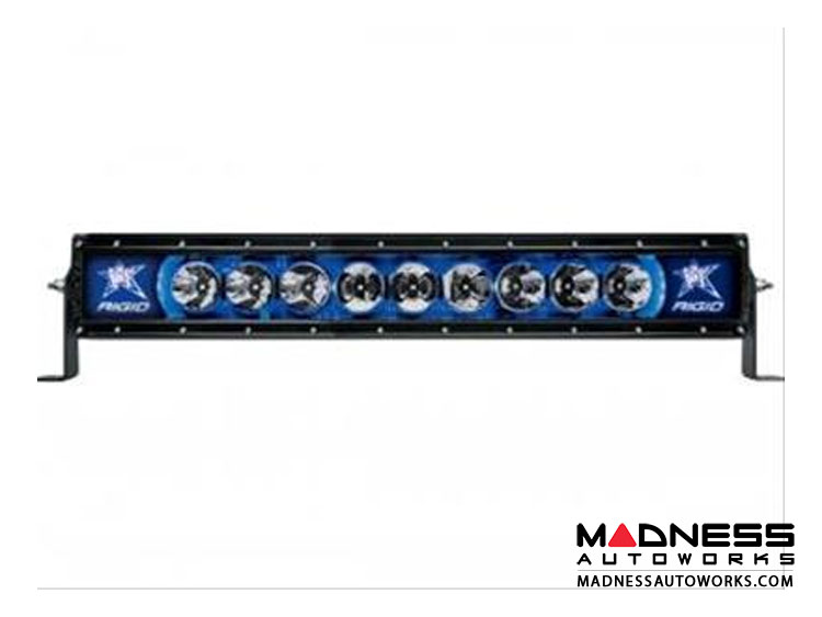 "Radience 20"" LED Light Bar by Rigid Industries - Blue Backlight"