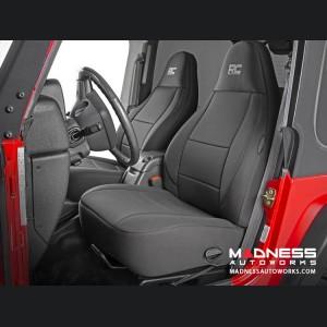 Jeep Wrangler TJ Black Neoprene Seat Cover Set - 2003 - 2006