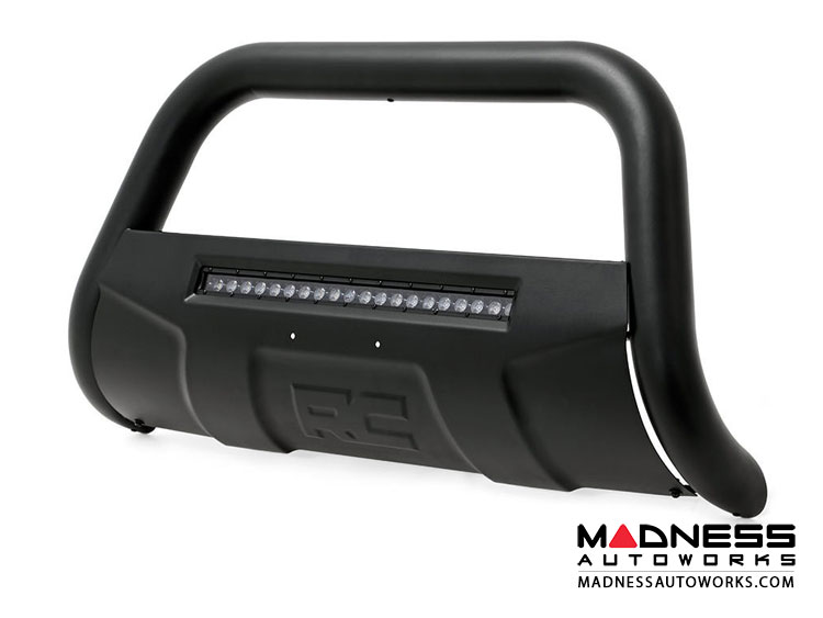 GMC Yukon Black Bull Bar w/ LED Light Bar (2007 - 2018)