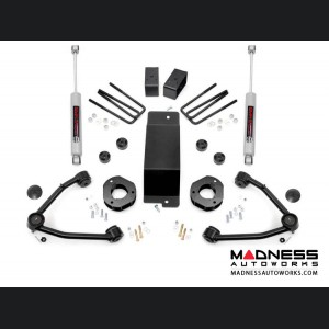 "GMC Sierra 1500 4WD Suspension Lift Kit w/ Upper Control Arms - 3.5"" Lift"