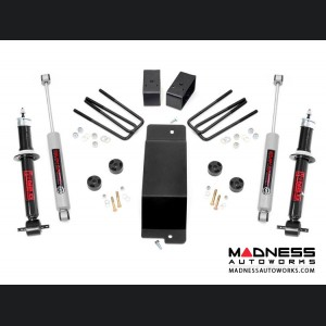 GMC Sierra 1500 3.5in Suspension Lift Kit w/ N2 Struts - 4WD (2007 - 2013)