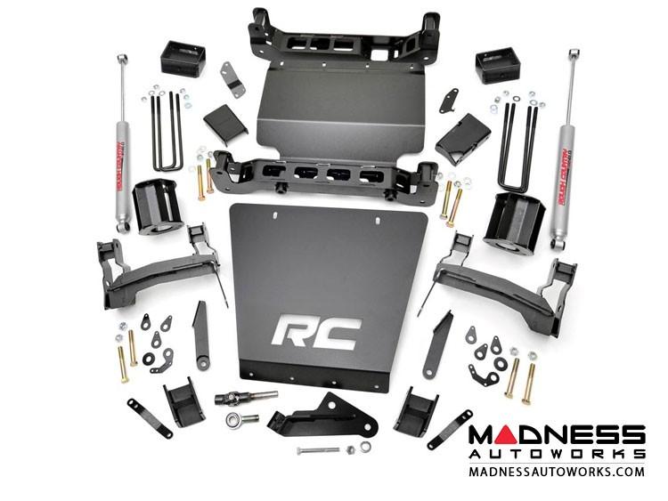 "GMC Sierra 1500 4WD Suspension Lift Kit w/ N2 Shocks - 5"" Lift"
