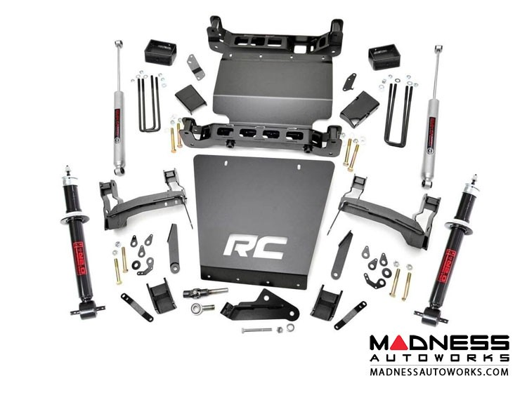 "GMC Sierra 1500 4WD Suspension Lift Kit w/ N3 Shocks & Struts - 5"" Lift"