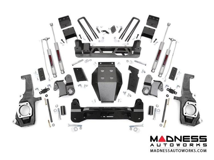 GMC Sierra 3500 5in Suspension Lift Kit - 4WD (2011 - 2018)