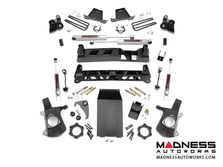 "GMC Sierra 1500 4WD Suspension Lift Kit w/ N3 Shocks - 6"" Lift"